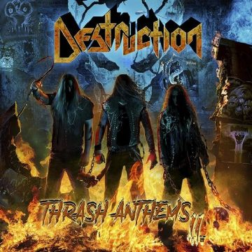 "DESTRUCTION vydávajú ""Thrash Anthems II"""