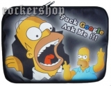 Púzdro na notebook HOMER SIMPSON-Fuck Google Ask Me!!!