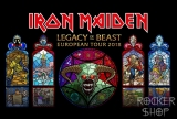 Obrus IRON MAIDEN veľký-Legacy Of The Beast
