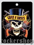 Visačka GUNS N´ROSES-Top Hat Skull