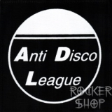 Nášivka ANTI DISCO LEAGUE