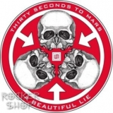 Nálepka 30 SECONDS TO MARS-A Beautiful Lie