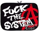 Púzdro na notebook ANARCHY-Fuck The System