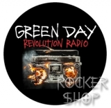 Odznak GREEN DAY-Revolution Radio