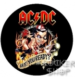 Odznak AC/DC-Are You Ready