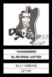 Mini gitara BILLY GIBBONS-Thunderbird Black Reverse Jupiter