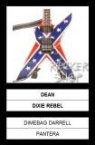 Mini gitara DIMEBAG DARRELL-Dean Dixie Rebel