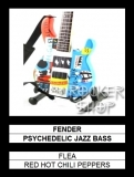 Mini gitara FLEA-Fender Psychedelic Jazz Bass