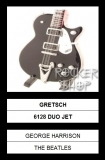 Mini gitara GEORGE HARRISON-Gretsch 6128 Duo Jet