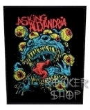 Nášivka ASKING ALEXANDRIA chrbtová-Eyeball Monster