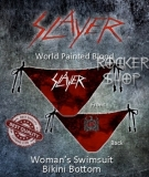 Bikiny SLAYER-World Painted Blood/spodný diel