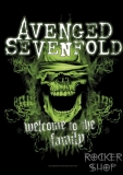 Vlajka AVENGED SEVENFOLD-Welcome To The Family