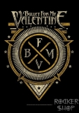 Vlajka BULLET FOR MY VALENTINE-Logo