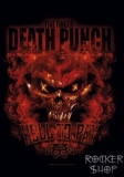 Vlajka FIVE FINGER DEATH PUNCH-Hell To Pay