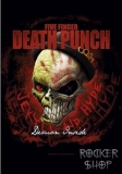 Vlajka FIVE FINGER DEATH PUNCH-Demon Inside