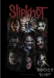 Vlajka SLIPKNOT-Masks