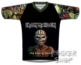 Dres IRON MAIDEN futbalový-Book Of Souls
