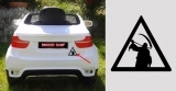 Nálepka na auto CHILDREN OF BODOM