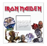 Zrkadlo IRON MAIDEN-Collage White