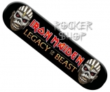 Nálepka IRON MAIDEN na bicykel-Legacy Of The Beast