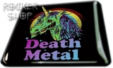 Magnetka DEATH METAL-Zombie Unicorn