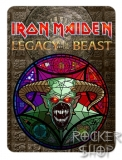 Nažehľovačka IRON MAIDEN-Legacy Of The Beast