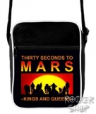 Taška 30 SECONDS TO MARS-Kings And Queens