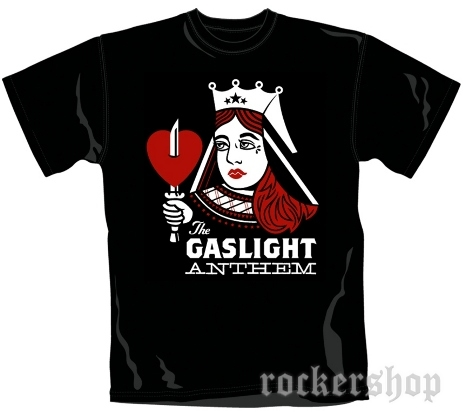 dc8c0ec8ce87 Tričko GASLIGHT ANTHEM pánske-Queen