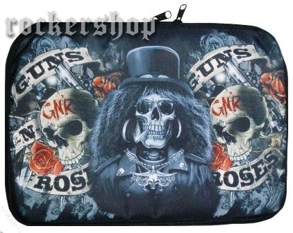 cfa90bcf9 MOBILY-NOTEBOOKY-PC | Púzdro na notebook GUNS N´ROSES-Slash Skull ...