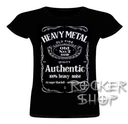 6208886f43f3 Tričko HEAVY METAL dámske-Authentic