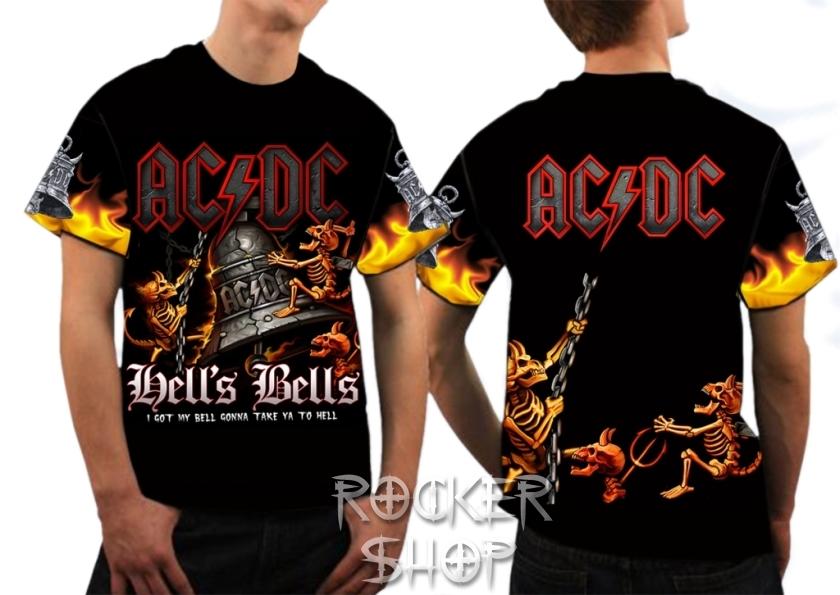e517d953bc Tričko AC DC pánske-Hell´s Bells