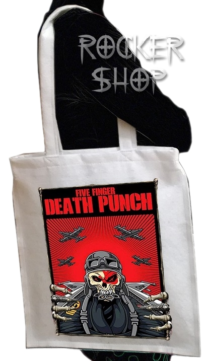 Taška FIVE FINGER DEATH PUNCH-Skull Pilot