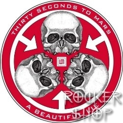 Odznak 30 SECONDS TO MARS-A Beautiful Lie