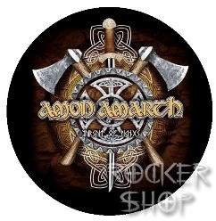 Odznak AMON AMARTH-Axe Shield
