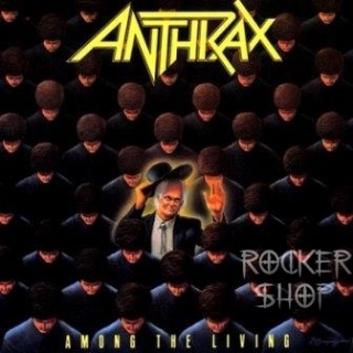 CD ANTHRAX-Among The Living
