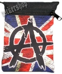 Taška ANARCHY na doklady-UK Flag