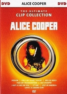 DVD ALICE COOPER-Ultimate Clip Collection