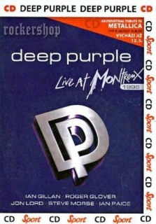CD DEEP PURPLE-Live At Montreux