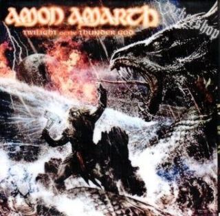 Nálepka AMON AMARTH-Twilight Of The Thunder God