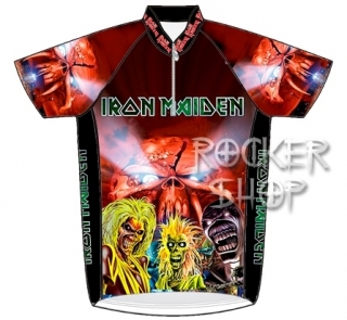 Dres IRON MAIDEN cyklistický-Collage