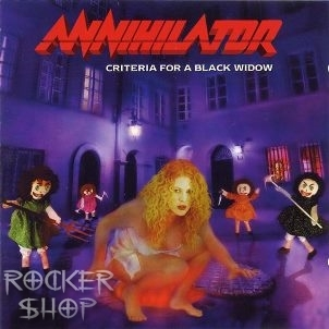 CD ANNIHILATOR-Criteria For A Black Widow