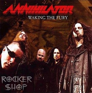 CD ANNIHILATOR-Waking The Fury