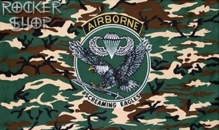 Vlajka AIRBORNE-Screaming Eagles