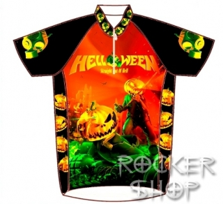 Dres HELLOWEEN cyklistický-Straight Out Of Hell