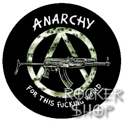 Odznak ANARCHY-For This Fucking World