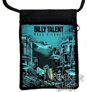 Taška BILLY TALENT na doklady-Dead Silence