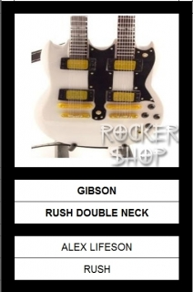 Mini gitara ALEX LIFESON-Gibson Double Neck