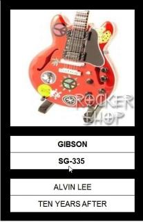 Mini gitara ALVIN LEE-Gibson SG-335