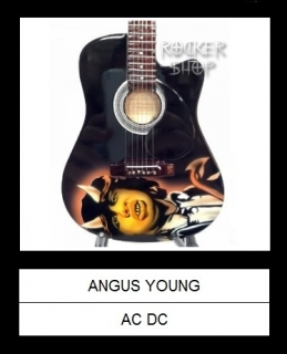 Mini gitara ANGUS YOUNG-Takamine Classic Tribute