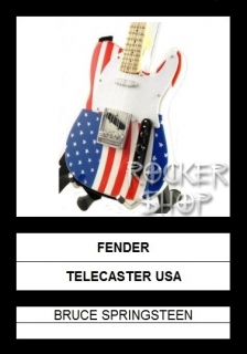 Mini gitara BRUCE SPRINGSTEEN-Fender Telecaster USA